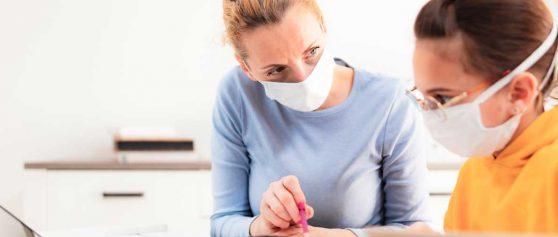 Covid-19-Pandemie stellt Schüler*innen vor neue Herausforderungen